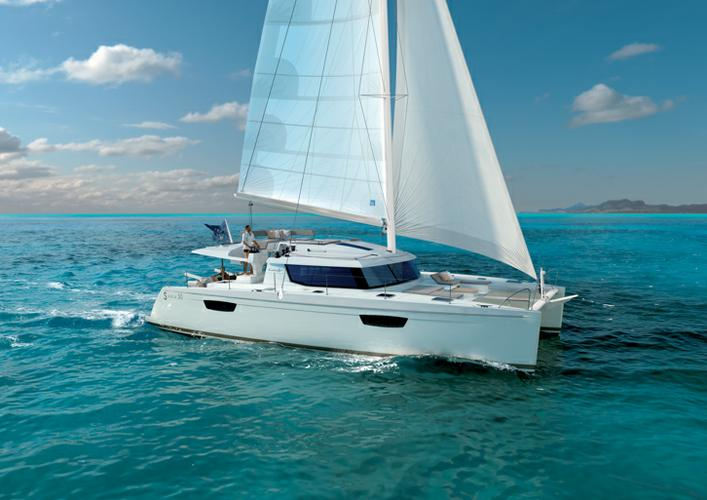 All you need to do is relax while on board our Fountaine Pajot