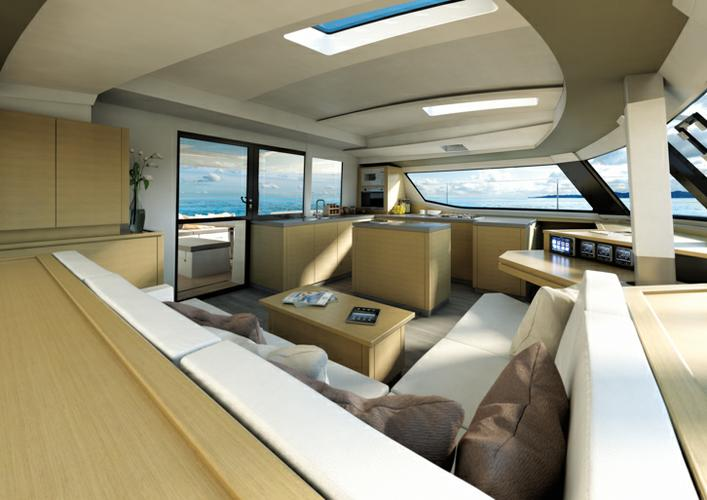 This 49.0' Fountaine Pajot cand take up to 14 passengers around British Virgin Islands
