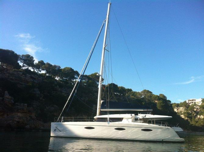 Enjoy Balearic Islands to the fullest on our Fountaine Pajot