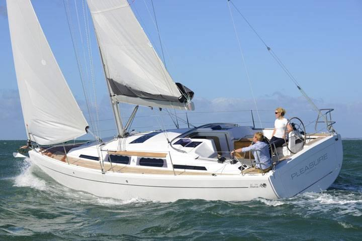 34.0 feet Hanse Yachts in great shape