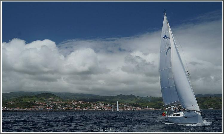 Discover Azores surroundings on this Hanse 385 Hanse Yachts boat
