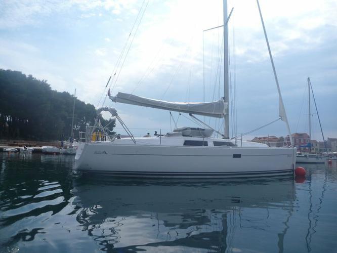 Boat for rent Hanse Yachts 39.0 feet in Marina Kastela, Kastela,