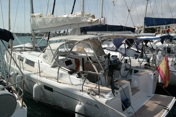 Enjoy luxury on this Hanse Yachts in Balearic Islands