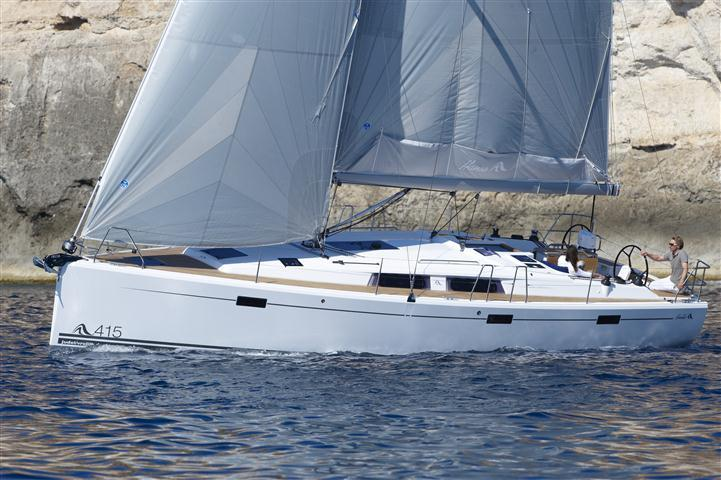 This 40.0' Hanse Yachts cand take up to 8 passengers around Split region