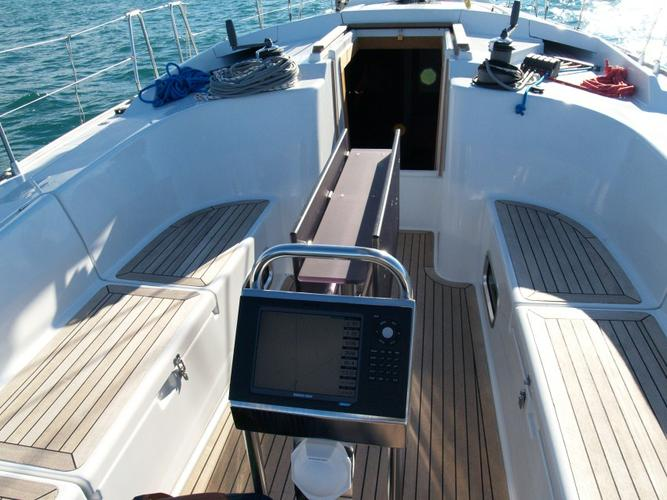 Discover Istra surroundings on this Hanse 430 Hanse Yachts boat