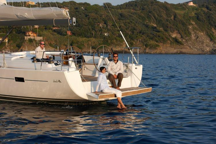 Discover Dubrovnik region surroundings on this Hanse 445 Hanse Yachts boat