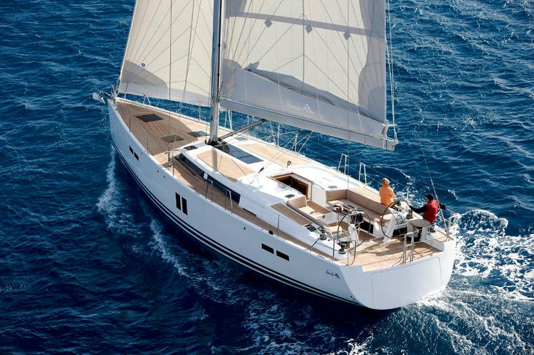 Sail Split region waters on a beautiful Hanse Yachts Hanse 445