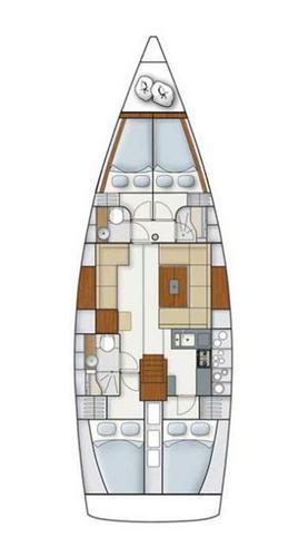 44.0 feet Hanse Yachts in great shape