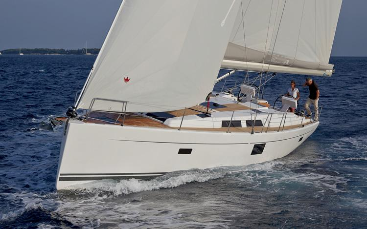 This 45.0' Hanse Yachts cand take up to 9 passengers around Split region