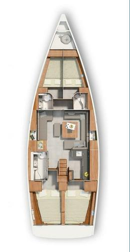 Discover Zadar region surroundings on this Hanse 455 Hanse Yachts boat