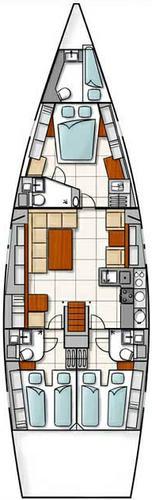 Boat for rent Hanse Yachts 52.0 feet in Marina Kastela, Kastela,