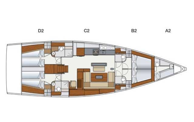 56.0 feet Hanse Yachts in great shape