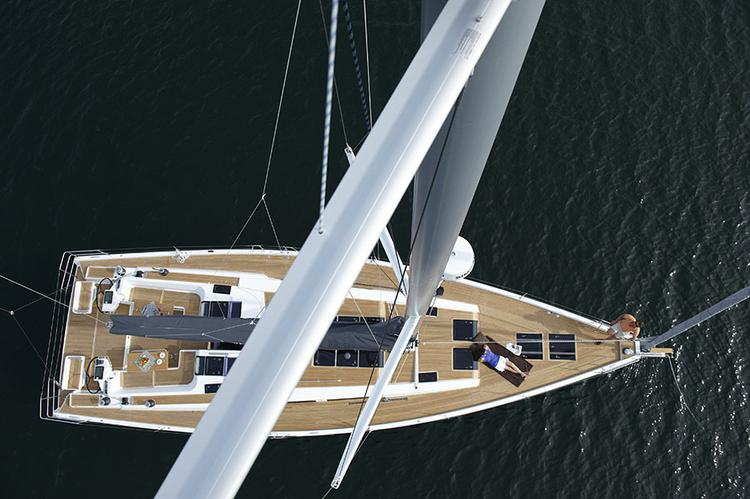 Boat for rent Hanse Yachts 56.0 feet in Marina Kastela, Kastela,