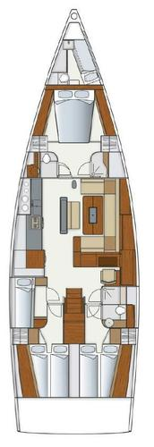 Boat for rent Hanse Yachts 56.0 feet in Yachtclub Seget (Marina Baotić), Seget Donji,