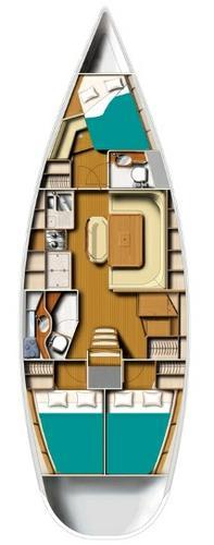 Discover Aegean surroundings on this Harmony 42 Harmony Yachts boat