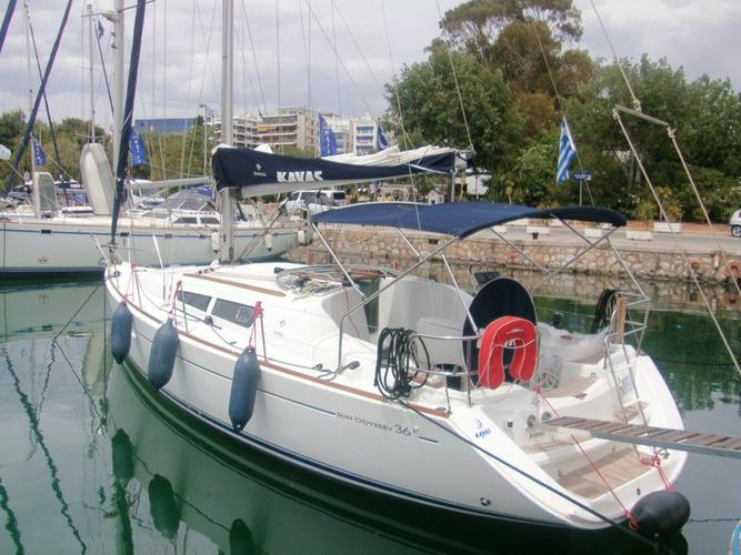 Jeanneau's 35.0 feet in Saronic Gulf