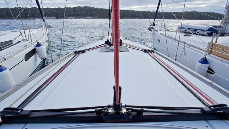 Boat for rent Jeanneau 35.0 feet in Yachtclub Seget (Marina Baotić), Seget Donji, Croatia