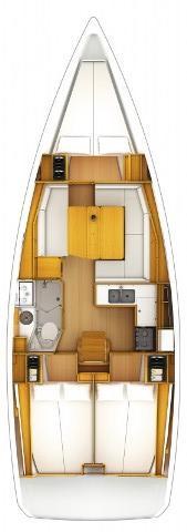 Discover Split region surroundings on this Sun Odyssey 379 Jeanneau boat