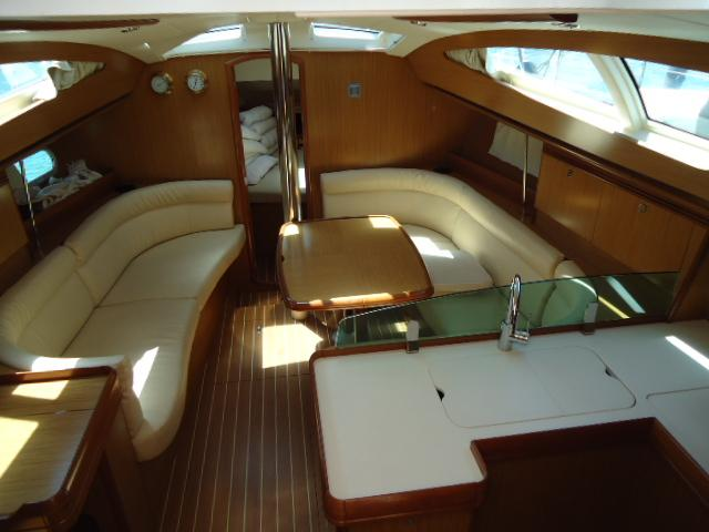 Discover Primorska  surroundings on this Sun Odyssey 39 DS Jeanneau boat