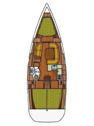 Boat for rent Jeanneau 38.0 feet in Yachtclub Seget (Marina Baotić), Seget Donji,