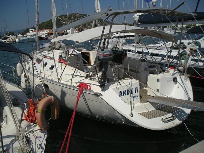 Jeanneau's 45.0 feet in Šibenik region