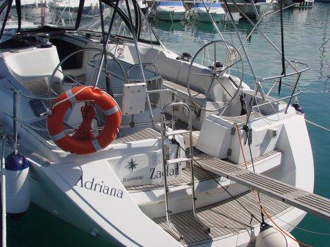 Boat for rent Jeanneau 45.0 feet in Marina Dalmacija, Sukosan, Croatia