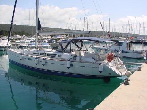 Sail Zadar region waters on a beautiful Jeanneau Sun Odyssey 45