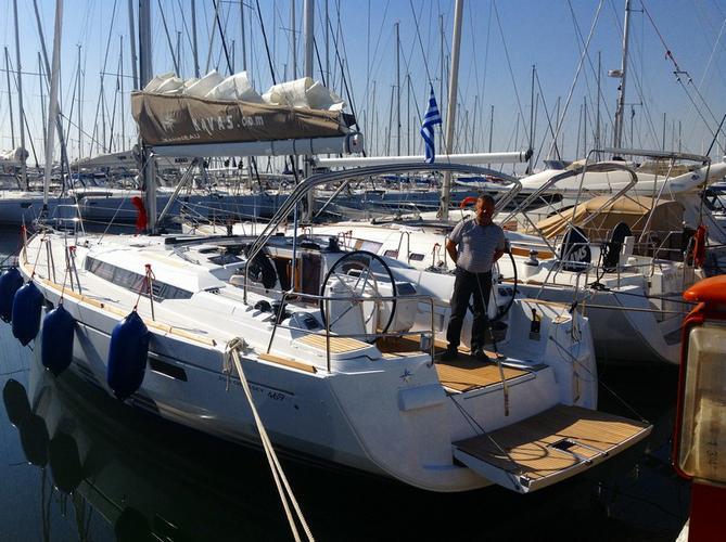 Jeanneau's 46.0 feet in Dodecanese