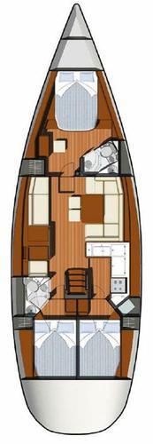 Jeanneau's 49.0 feet in Aegean