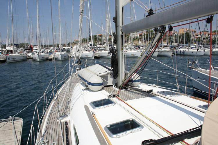 Boat for rent Jeanneau 49.0 feet in Marina Kremik, Primosten,