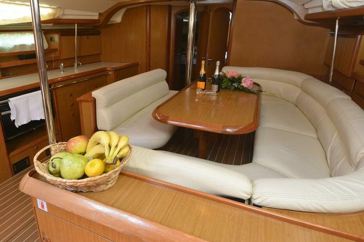 Discover Split region surroundings on this Sun Odyssey 49i Jeanneau boat