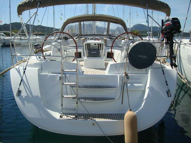 Sail Sardinia waters on a beautiful Jeanneau Jeanneau 53