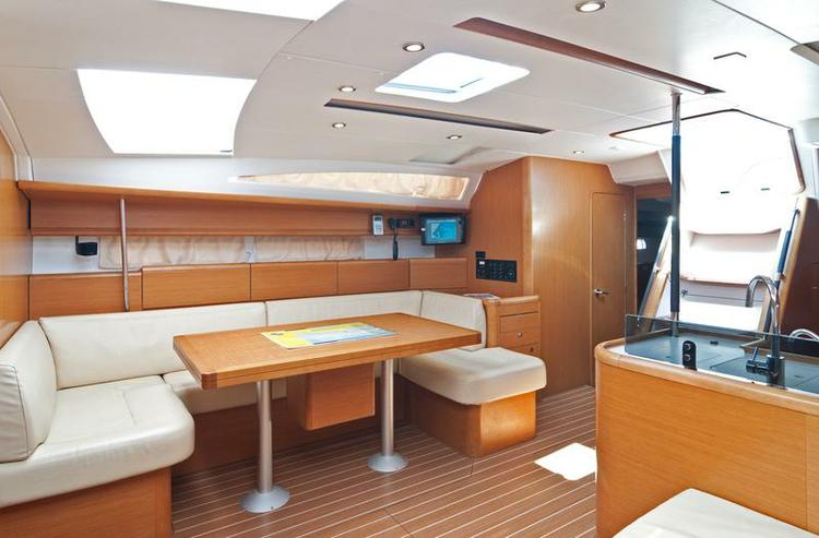 Discover Split region surroundings on this Jeanneau 53 Jeanneau boat