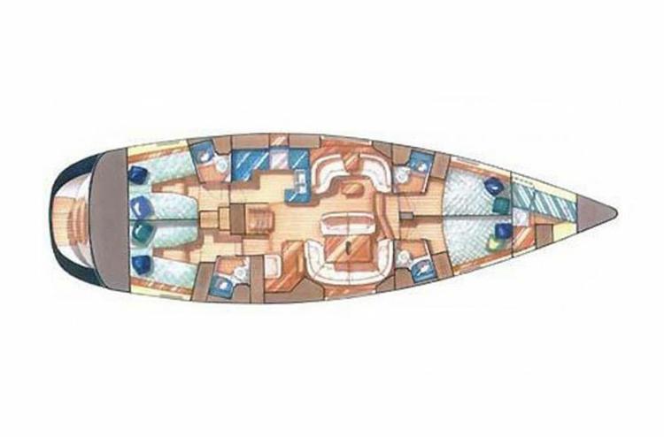 Boat for rent Jeanneau 54.0 feet in Marina Kremik, Primosten,