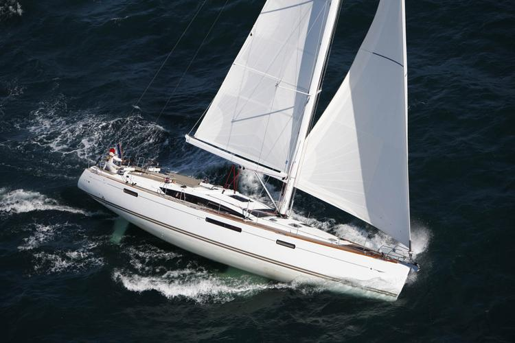 Modern Crewed Sailing Yacht