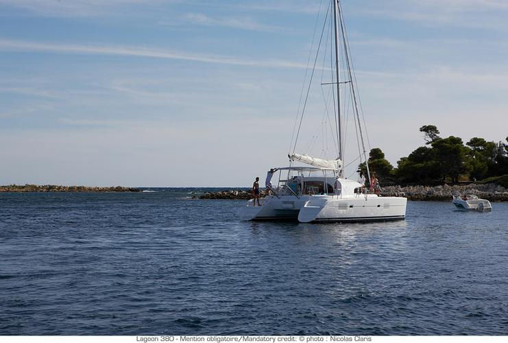 Boat for rent Lagoon-Bénéteau 37.0 feet in Marina Mandalina, Sibenik, Croatia