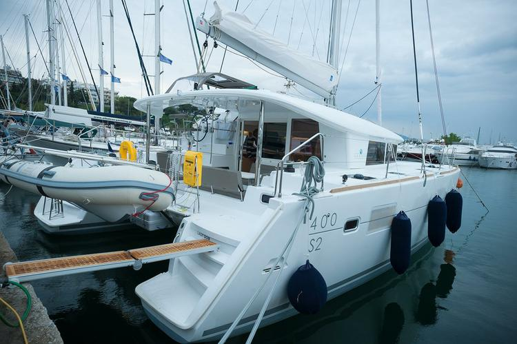 Catamaran boat rental in Macedonia,