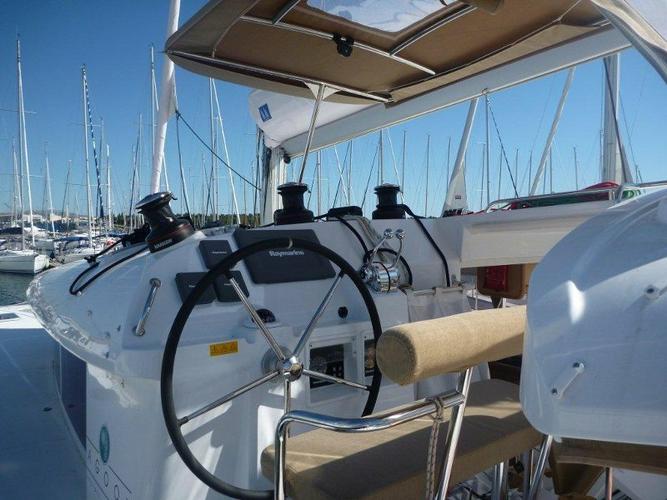 Catamaran boat rental in Marina Mandalina, Sibenik,