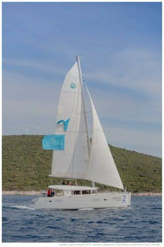 Discover Split region surroundings on this Lagoon 400 Lagoon-Bénéteau boat