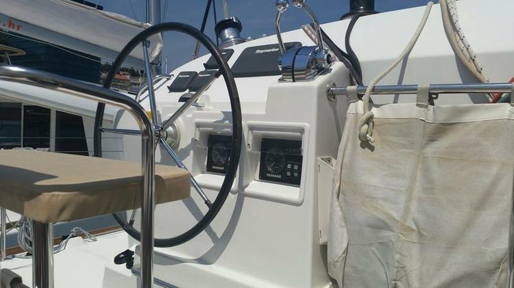 Catamaran boat rental in Marina Split - ACI , Croatia
