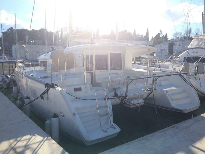 Boat for rent Lagoon-Bénéteau 39.0 feet in Marina Nava, Split,