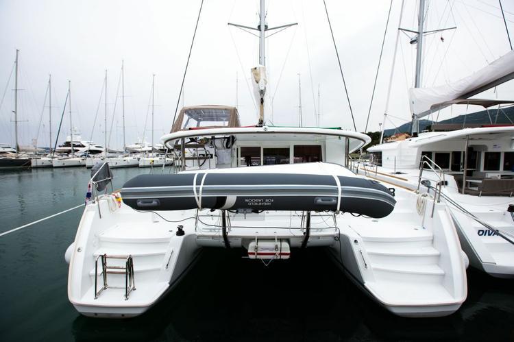 Boat for rent Lagoon-Bénéteau 39.0 feet in Marina Kastela, Kastela,