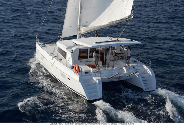 Boat for rent Lagoon-Bénéteau 41.0 feet in Aegean, Turkey