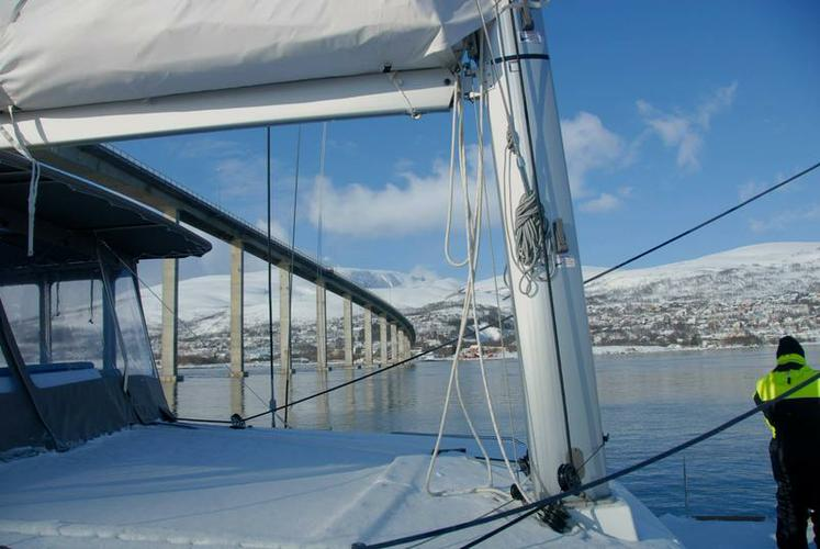 Boat for rent Lagoon-Bénéteau 45.0 feet in Troms, Norway