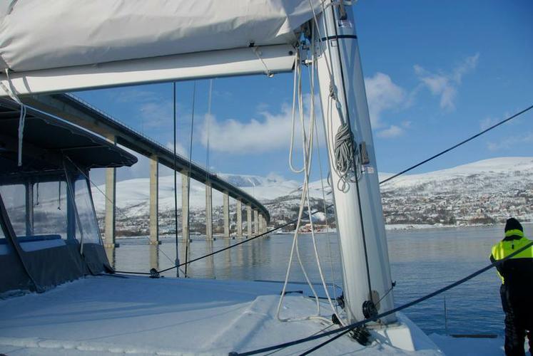 Boat for rent Lagoon-Bénéteau 45.0 feet in Troms,