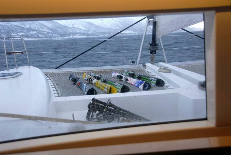 Lagoon-Bénéteau's 45.0 feet in Troms