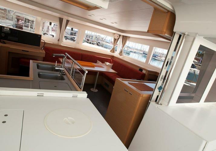Boat for rent Lagoon-Bénéteau 45.0 feet in Marina Nava, Split,