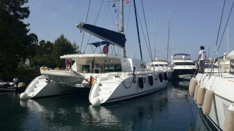 Boating is fun with a Lagoon-Beneteau in Aegean