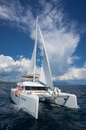 This 51.0' Lagoon-Bénéteau cand take up to 10 passengers around Split region