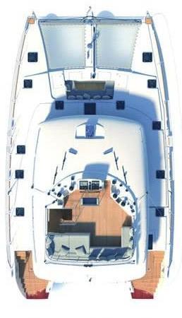 Boat for rent Lagoon-Bénéteau 56.0 feet in Aegean, Turkey